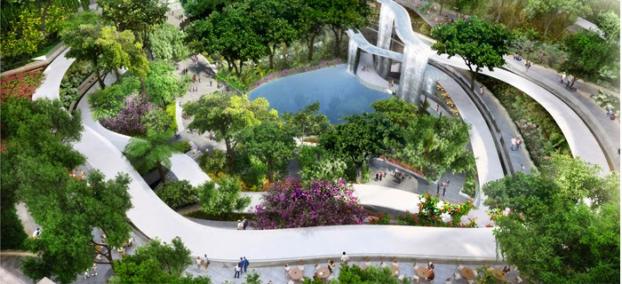 Garden And Landscape Pte : Marina one